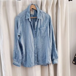 Jean button down shirt